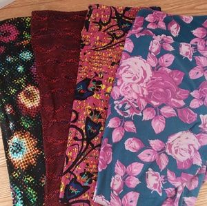 LULAROE Tall& Curvy Leggings Bundle